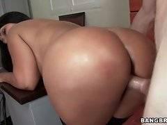 Amazing big booty is getting fucked hard