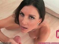 Sexy milf India Summer knows how to treat erect dick properly.