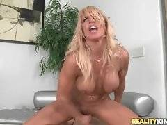 Levi Cash and fantastic milf Gina West perform great fucking.