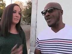 Pretty Marley Blaze is going to have her first anal with black guy and she`s nervous about it.
