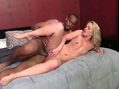 Awesome Krystal Carrington is fond of getting fucked by black dude.