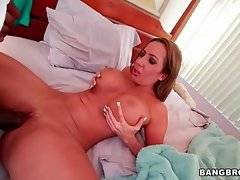Horny Jack Napier deeply attacks amazing breasted Richelle Ryan.