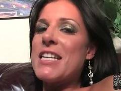 Turned on black dude ruthlessly drills awesome slutty wife on her husband`s eyes.