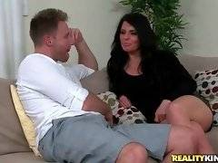 Levi Cash invites lovely milf Jade Steele to his place.