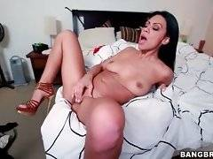 Cassandra Cruz can`t wait to have her pussy pocked with giant black cock.