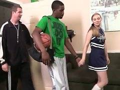 Coach wants to have great black player in his team and he wants his daughter to help him persuade the guy.