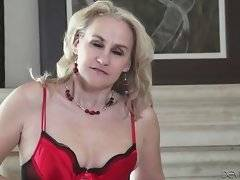 Nasty aged blonde invites you to have sex fun with her.