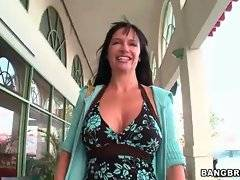 Awesome European milf is going to have some sex fun on camera.