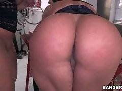 Becca Diamond and Vanessa Luna are oiling each other`s asses.