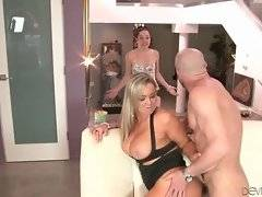 Abbey Brooks is fond of getting her butt hole filled with hard cock.