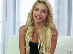 Welcome today hot looking young Latin blonde Carmen Caliente.