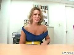 Naughty milf Ashley Coda is going to show you all her charms.