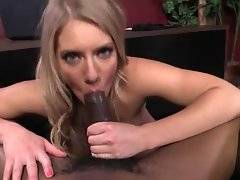 Candice Dare loves to have her pussy stretched with black rod.