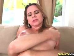 Pretty milf loves to feel thick cock inside her wet pussy.