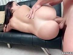 Stunning big shaped slutie is fond of getting drilled.