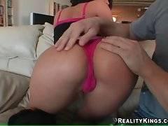Savannah Stern demonstrates her perfect big round ass.