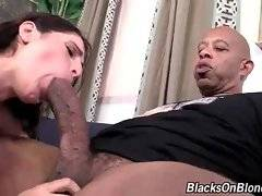 White cutie Kara Price and black super stud Shane Diesel get too much turned on.