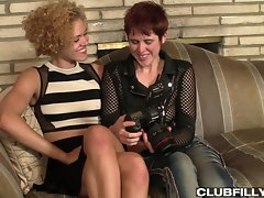 Lily Cade and Heidi Jenner star in this 9 minute quickie from Lily Cade`s Dirty Pictures! Have you ever gotten the impression Lily`s life consists of cruising from one wet and willing woman to the next? Sometimes that`s exactly how it is... sometimes even she can hardly handle it! See how Heidi gets a lot more done than just the job at hand, when Lily and Heidi have their photo shoot...
